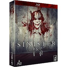 Coffret sinister 1 et 2, Blu-ray