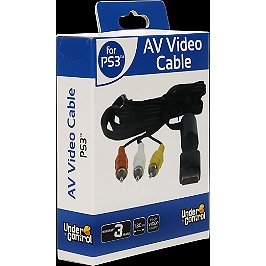 Cable AV-video (1.8m) (PS3)