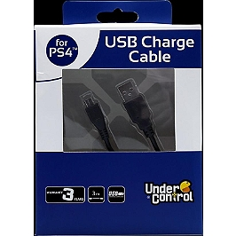 Cable de charge USB (3m) Playstation 4 (PS4)