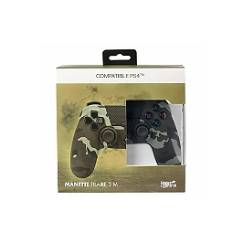 Manette filaire Undercontrol V.2 - vert camouflage (PS4)