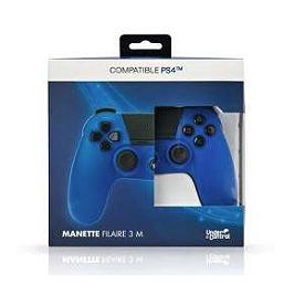 Manette Playstation 4 filaire bleue (PS4)
