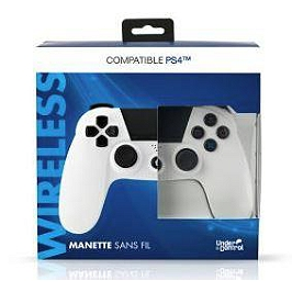 Manette bluetooth - Blanche (PS4)