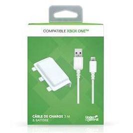 Xbox One pack batterie - câble de charge + batterie (blac) (XBOXONE)