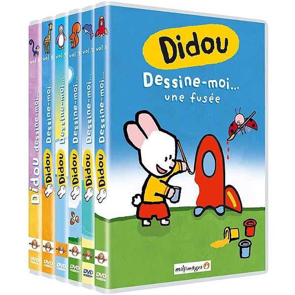 Dvd - Didou, dessine moi... une fusée, vol. 1 à 6 - Espace ...
