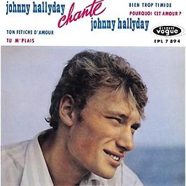 Johnny Hallyday chante Johnny Hallyday, CD Digipack