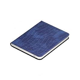 Couverture liseuse Diva - crocolife bleu