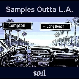 Samples outta LA. - soul, Vinyle 33T