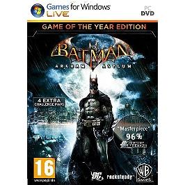 Batman: Arkham Asylum - édition jeu de l'année (PC)