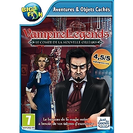 Vampire legends : le comte de la Nouvelle-Orléans (PC)