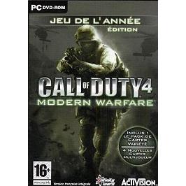 Call of duty 4 : modern warfare - jeu de l'année (PC)
