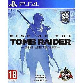 Rise of the tomb raider 20ème anniversaire (PS4)