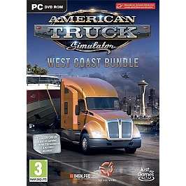 American truck simulator west coast bundle (PC)