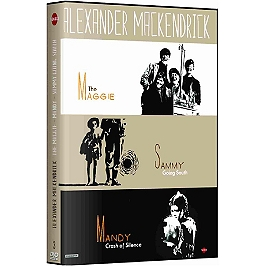 Coffret Alexander MacKendrick 3 films : the Maggie ; Mandy, crash of silence ; Sammy going south, Dvd