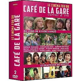 Coffret le cinéma fou du Café de la Gare 2 films : au long de la rivière Fango ; le graphique de Boscop, Dvd