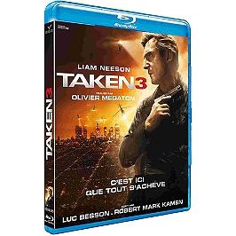 Taken 3, Blu-ray