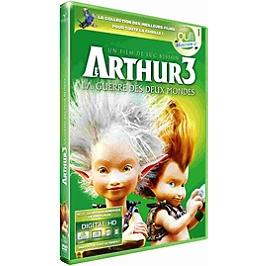 Arthur et les minimoys 3 : la guerre des deux mondes, Dvd