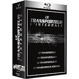 Coffret le transporteur 4 films, Blu-ray