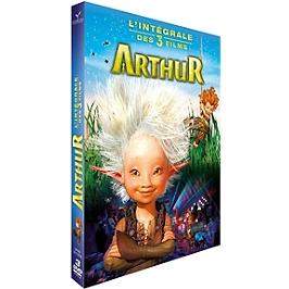 Coffret Arthur 3 films : Arthur et les Minimoys ; la vengeance de Maltazard ; la guerre des deux mondes, Dvd