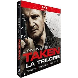 Coffret taken 1 à 3, Blu-ray