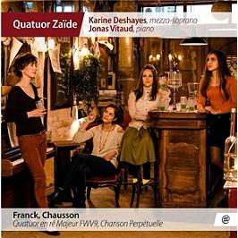 Quatuor en ré majeur FWV9, chanson perpétuelle, CD
