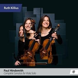 Complete sonatas for viola solo, CD