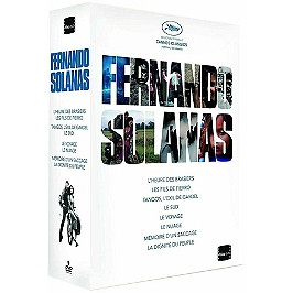 Coffret Fernando Solanas : integrale cinema, Dvd