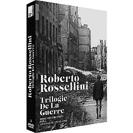 Coffret Rossellini, la trilogie de la guerre : Rome ville ouverte ; Paisa ; Allemagne, année zéro, Dvd