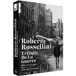 Coffret Rossellini, la trilogie de la guerre : Rome ville ouverte ; Paisa ; Allemagne, année zéro, Blu-ray