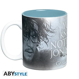 GAME OF THRONES - mug - 460 ml - you know nothing