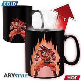 DRAGON BALL Mug Heat Change Goku