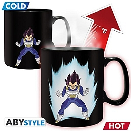 DRAGON BALL Mug Heat Change Vegeta