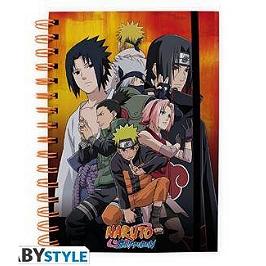 Naruto shippuden - cahier