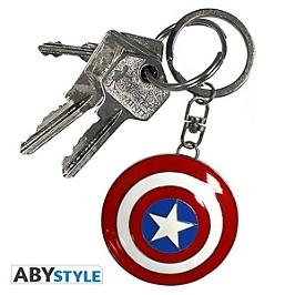 Porte-clefs marvel 3D bouclier captain america