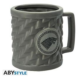 GAME OF THRONES - mug 3D - stark