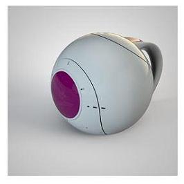 DRAGON BALL - mug 3D - heat change - vaisseau