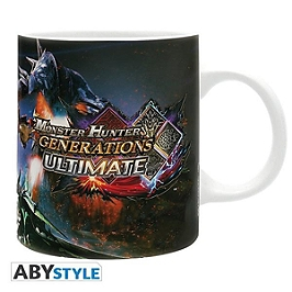 Monster hunter - Mug - 320 ml - ultimate- subli - avec boîte x2