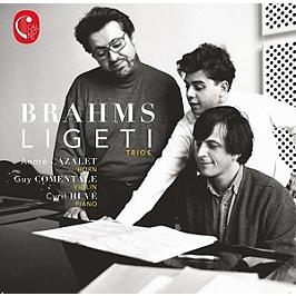 Brahms Ligeti trios, CD