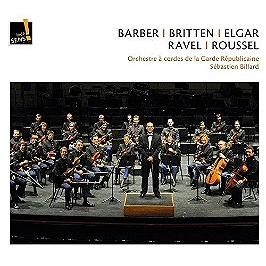 Barber Britten Elgar Ravel Roussel, CD Digipack