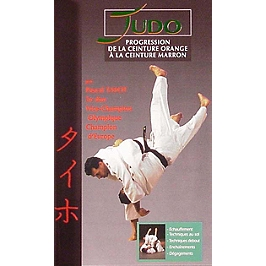Judo, vol. 1 : progression de la ceinture orange à la ceinture marron, Dvd