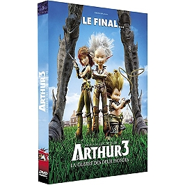 Arthur 3 : la guerre des deux mondes, Dvd