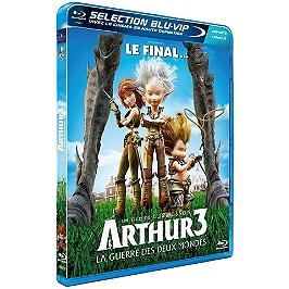 Arthur 3 : la guerre des deux mondes, Blu-ray