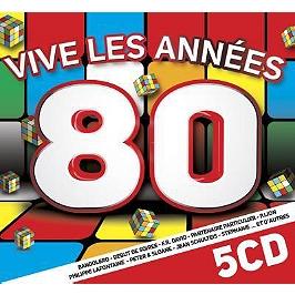 Vive les années 80, CD + Box