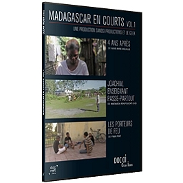 Madagascar en courts, vol. 1, Dvd