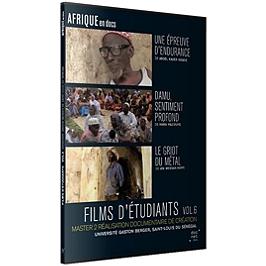 Films d'étudiants Saint-Louis du Sénégal, vol. 6, Dvd