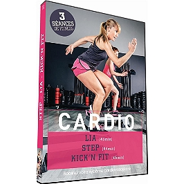 Cardio - step - lia - kick'n'fit, Dvd