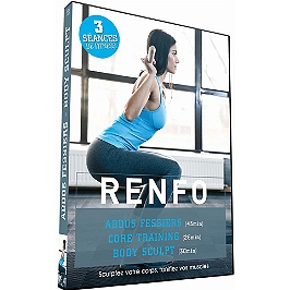 Renfo - abdos fessiers - body sculpt - core training, Dvd