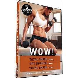 Wow ! - fat burner - total shape, Dvd