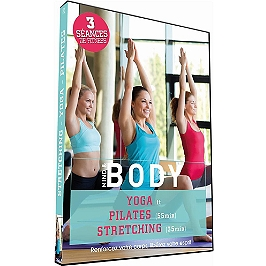 Mind and body - yoga - pilates - stretching, Dvd