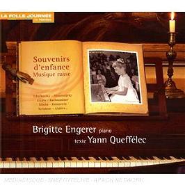 Souvenirs D'Enfance, Musique Russe, CD Digipack