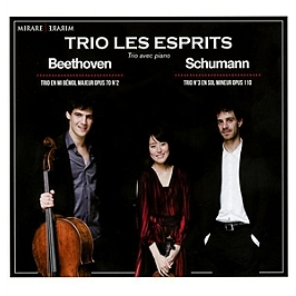 Beethoven : trio en mi bémol majeur op.70/2 - Schumann : trio n°3 en sol mineur op.110, CD Digipack
